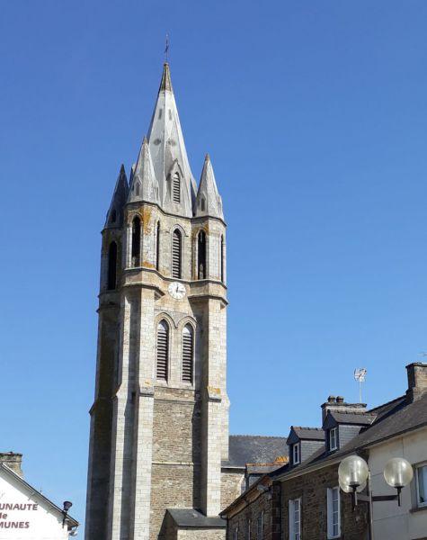 église st pierre évran